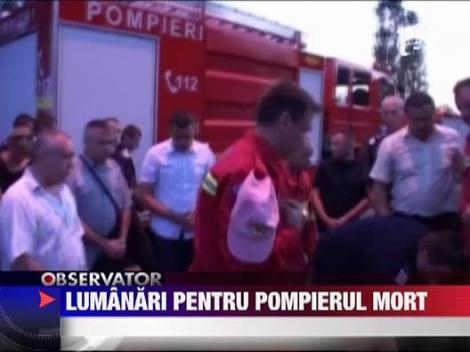 Pompier comemorat in Baia Mare