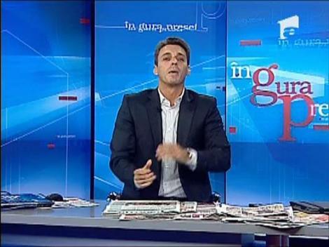 Mircea Badea rade de rochia proaspetei doamne Borcea