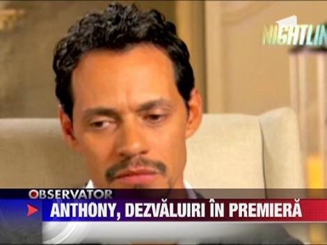 """Marc Anthony: """"Casatoria mea cu Jennifer nu putea sa dureze"""" """