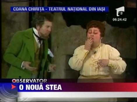 Tamara Buciuceanu Botez a primit o stea pe Aleea Celebritatilor