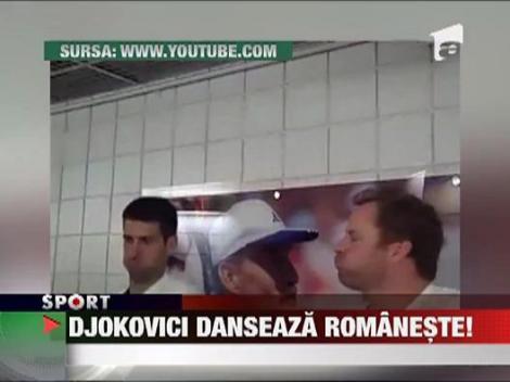 Djokovici a invatat sa danseze pe melodia Alexandrei Stan