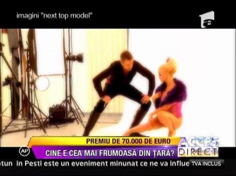 Premiu de 70.000 de euro, la Next Top Model