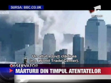 Tragedia din 11 septembrie 2001: Înregistrările audio ale turnurilor de control aeriene au fost făcute publice