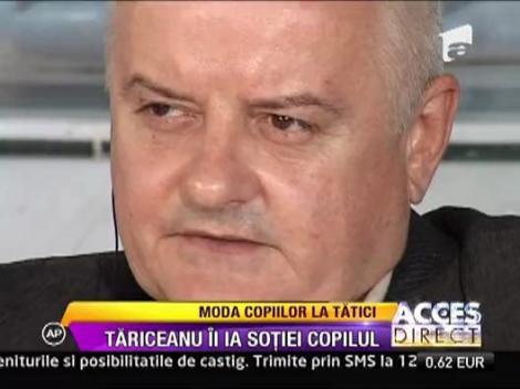 Calin Popescu-Tariceanu a primit custodia fiului sau de 8 ani