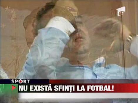Gigi Becali a adus patru sfinti in Pipera