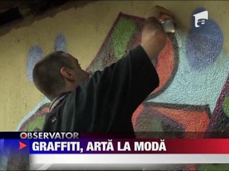 Graffiti, arta la moda
