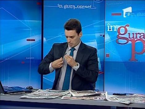 Ministrul de Interne il apara pe agresorul lui Ciutacu