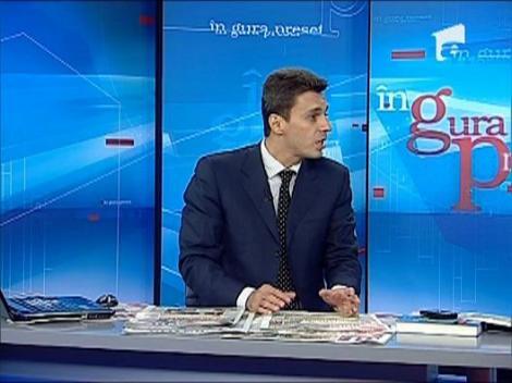 """Mircea Badea: """"Daca la vot am de ales intre Basescu si sosia Adelinei Pestritu, aleg sosia"""""""