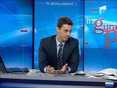 Mircea Badea o provoaca la un pariu pe Elena Udrea