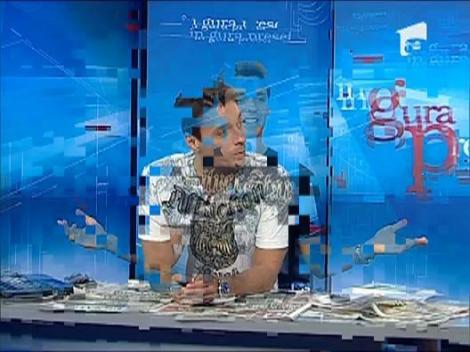 Mircea Badea, parada de tricouri