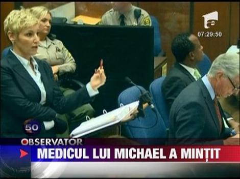 Medicul lui Michael, judecat