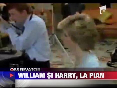 William si Harry, la pian
