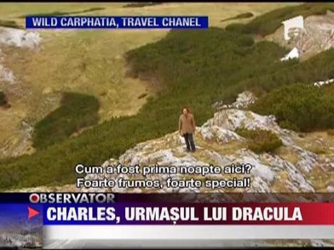 Printul Charles este urmasul lui Dracula
