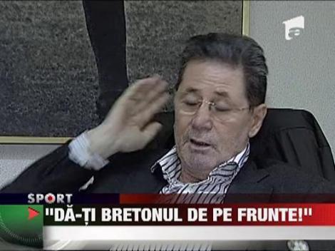 Victor Piturca este selectionerul care nu-si schimba nici convingerile nici bretonul!