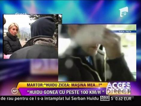 "Serban Huidu: ""Masina mea! Masina mea!"""
