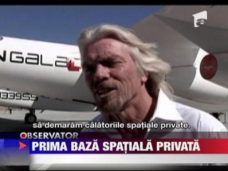 Prima baza spatiala privata