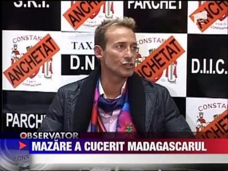 Radu Mazare s-a distrat in Madagascar