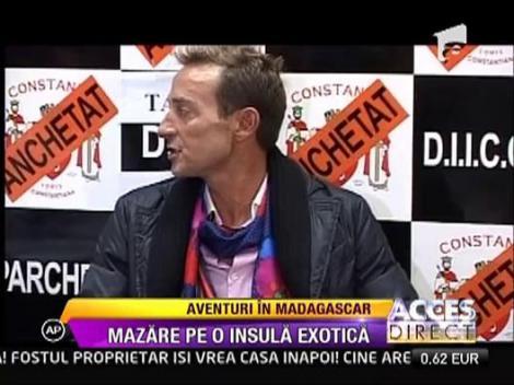 Radu Mazare, aventuri pe o insula exotica