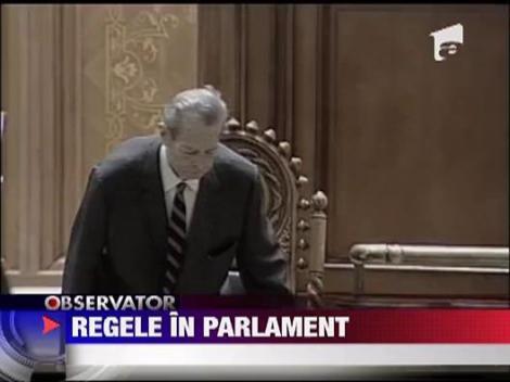 Regele Mihai I, in Parlamentul Romaniei dupa 64 de ani de la abdicare