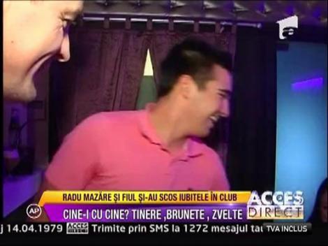 Radu si Raducu Mazare, petrecere de pomina in club