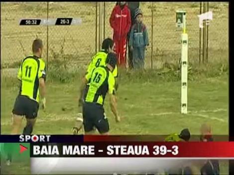 Baia Mare - Steaua 39-3