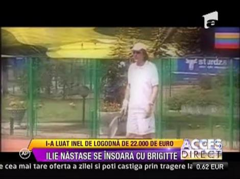 Ilie Nastase i-a luat iubitei inel de logodna de peste 22.000 de euro