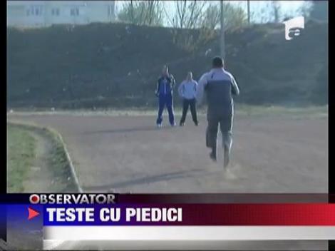 Teste fizice pentru politistii din Baia Mare