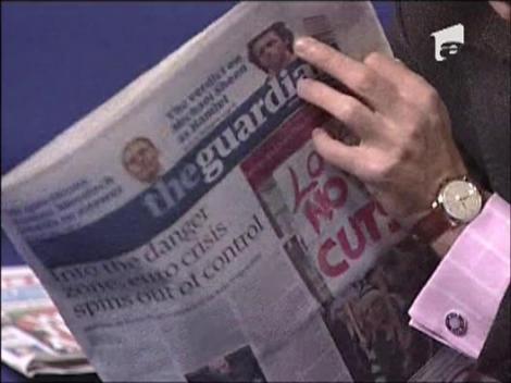 Mircea Badea ne prezinta presa din Marea Britanie