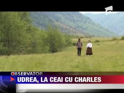 Elena Udrea a fost invitata Printului Charles la resedinta oficiala