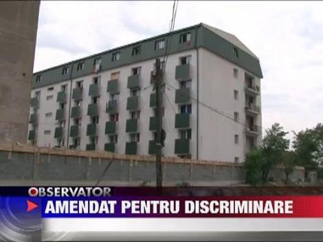 Amenda pentru discriminare