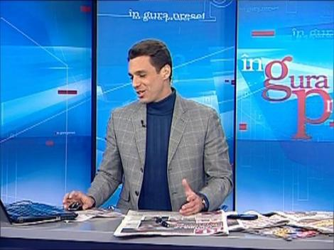 """Mircea Badea despre Turcescu: """"Chelner de bacsisuri mici"""""""