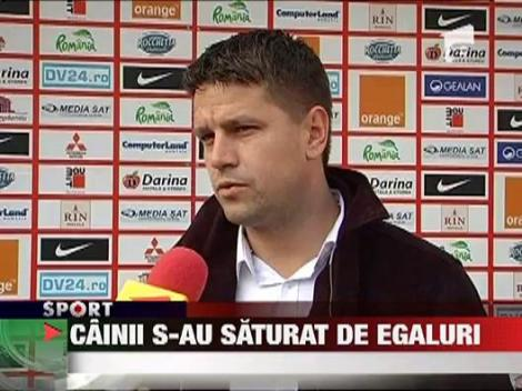 Dinamo 2 s-a saturat de egaluri