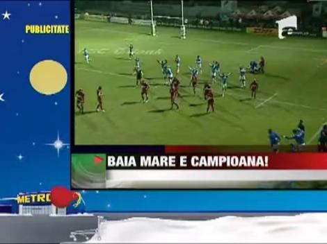 Baia Mare este noua si vechea campioana a Romaniei la rugby!