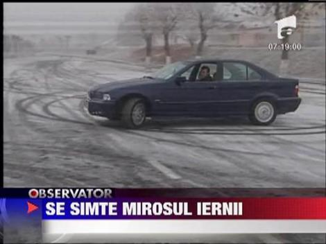 In Ardeal a venit, oficial, iarna