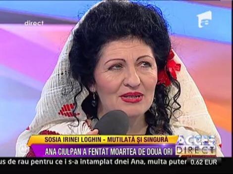 Sosia Irinei Loghin, mutilata si singura