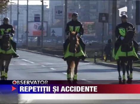 Accident in lant din cauza repetitiilor de 1 Decembrie