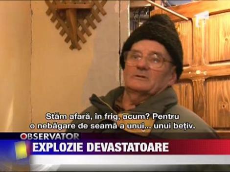 UPDATE / Explozie devastatoare in Baia Mare
