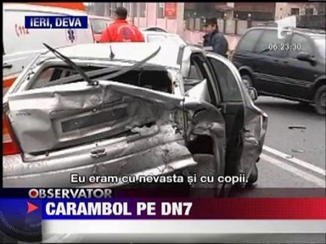 Accident in lant in Deva