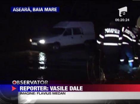 Inundatii in Maramures - mai multe drumuri nationale, blocate 