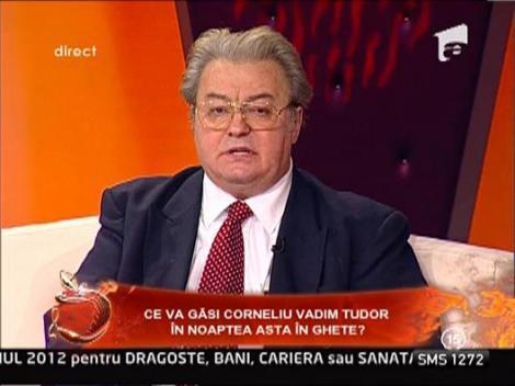 Vadim Tudor e convins ca Mos Nicolae exista!