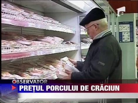 Afla cat costa carnea de porc
