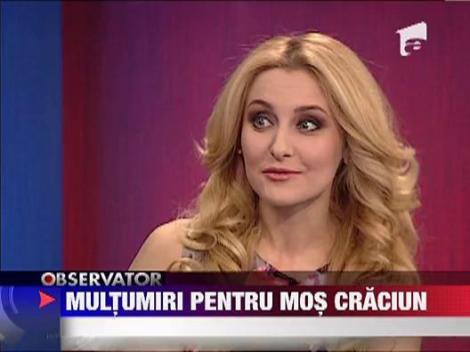 Alina Sorescu ne-a pregatit un dar muzical de Craciun