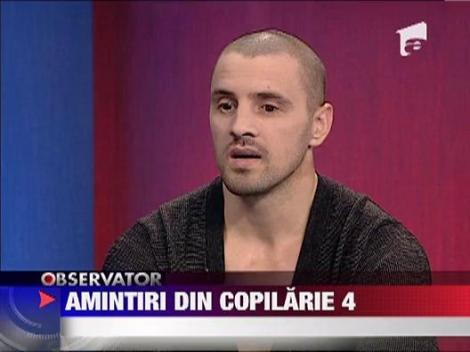 "Pavel Stratan isi lanseaza volumul patru al ""Amintirilor din copilarie"""