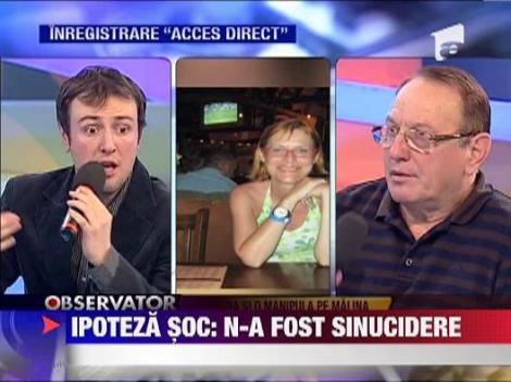 Calin Geambasu: Malina Olinescu nu s-a sinucis!