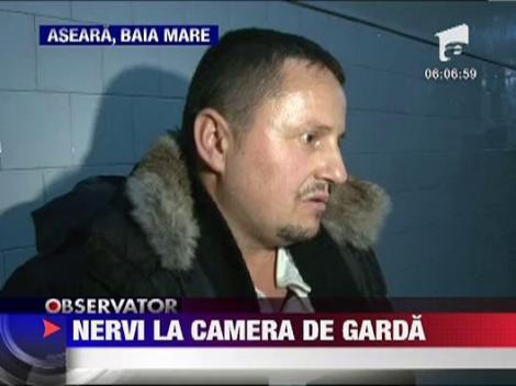 Nervi la camera de garda de la Spitalul Judetean din Baia Mare