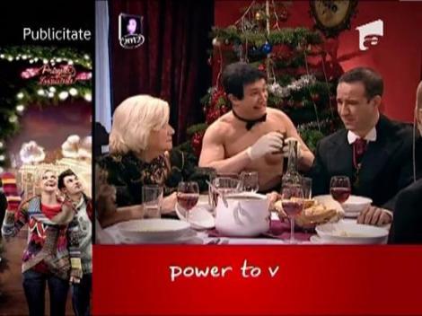 Bujor si Nicusor, chelneri la Casa Regala