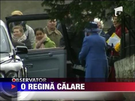 Regina Elisabeta a II-a a Marii Britanii a inceput anul calare