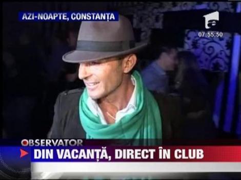 Radu Mazare, distractie in club