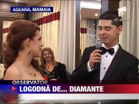 Diana Bisinicu s-a logodit