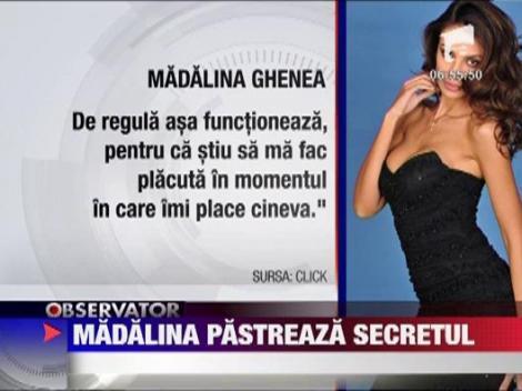 Madalina Ghenea ramane rezervata